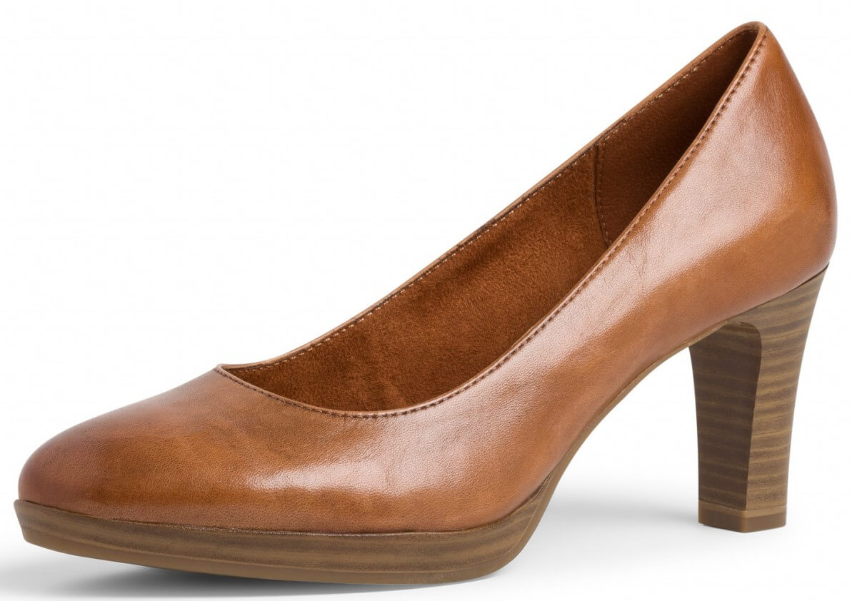 Brown pumps