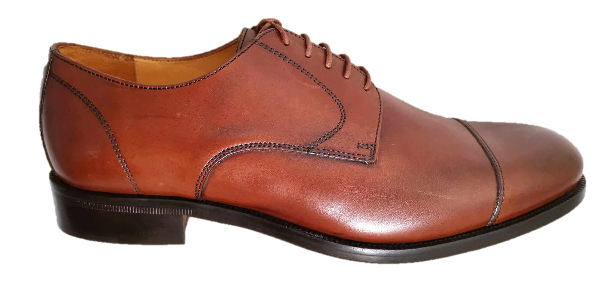 brown cap toe