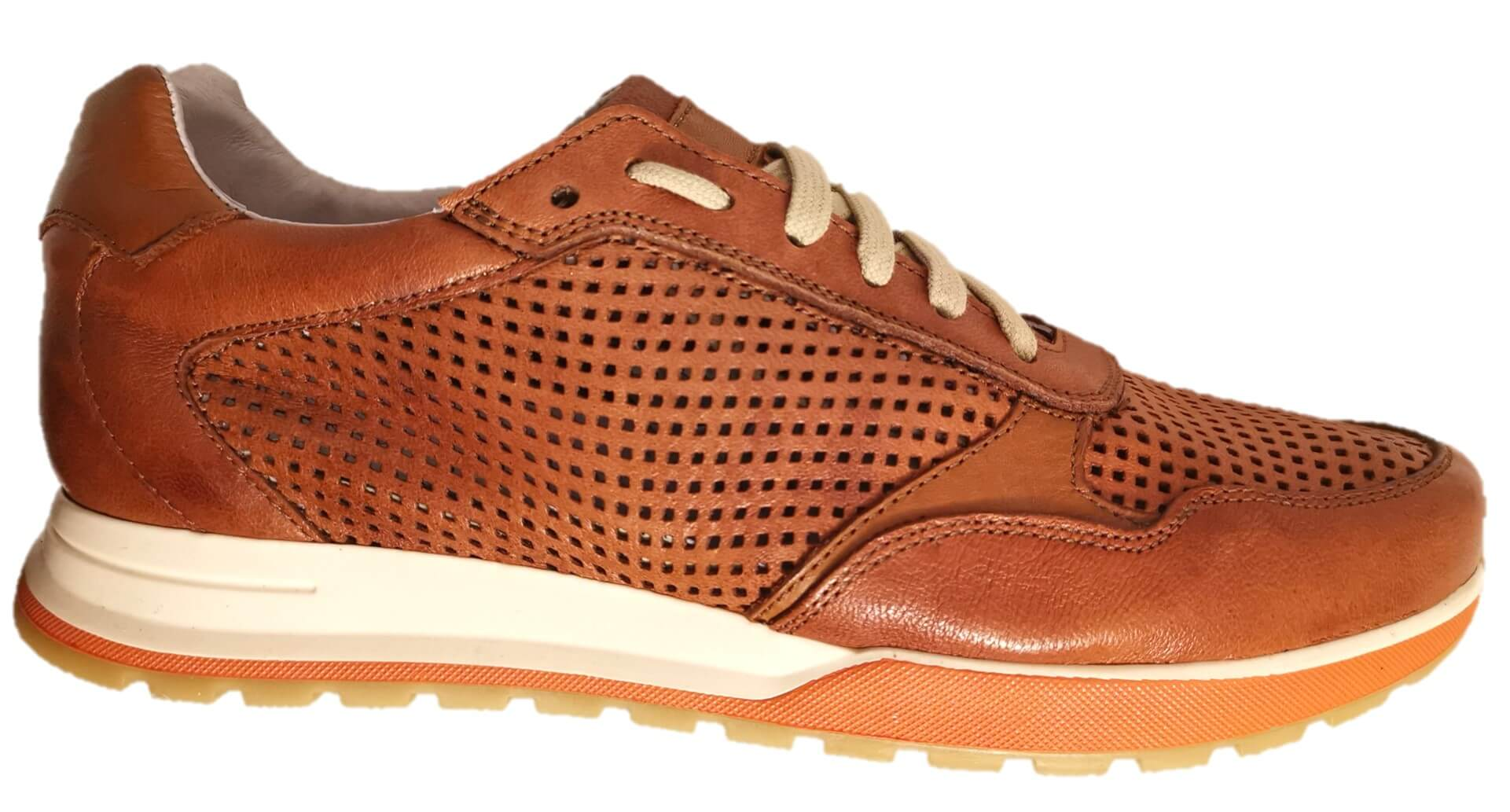 Sneakers cuoio