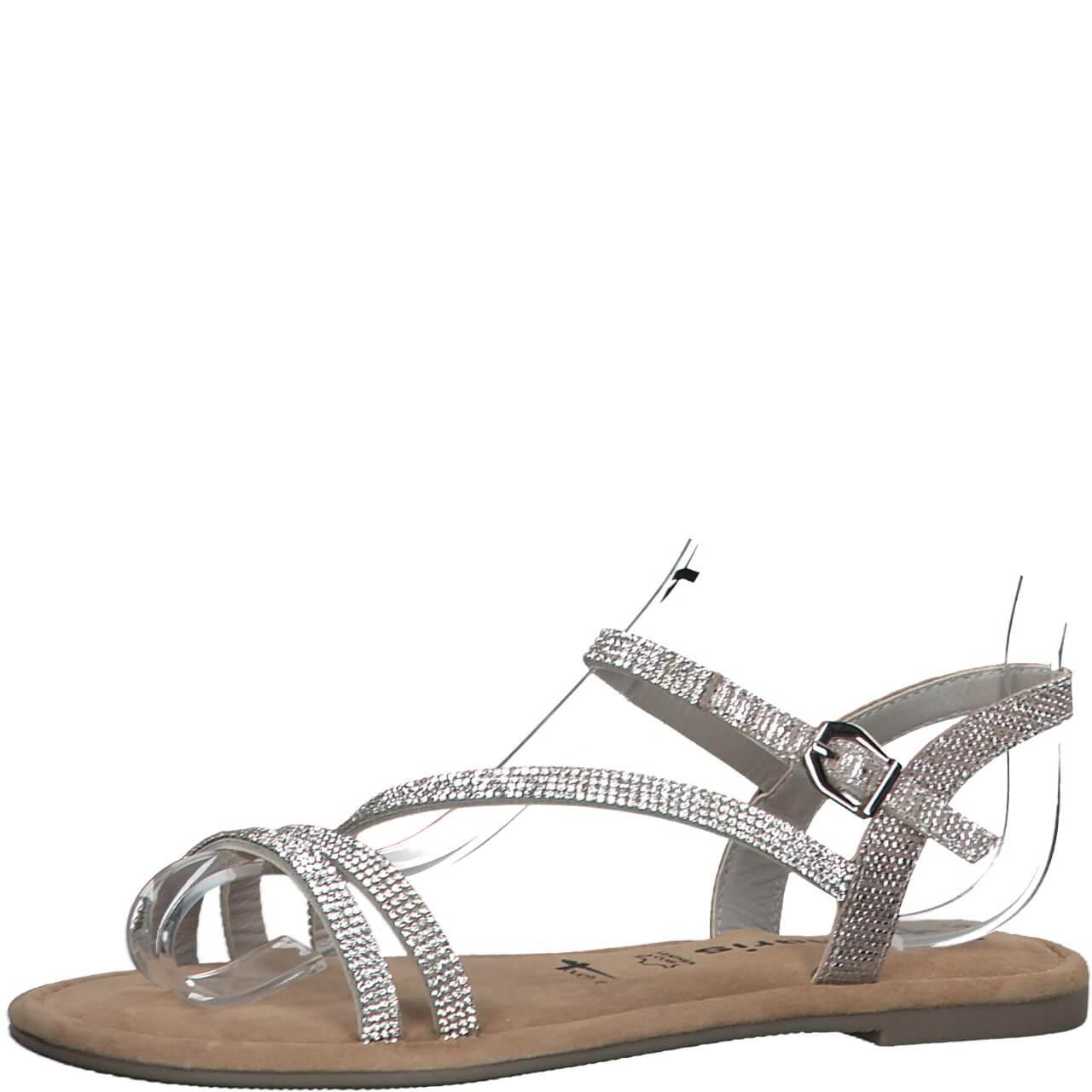 suilver sandals