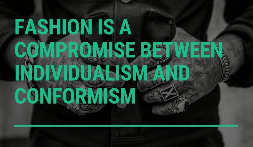 Fashion as a compromise